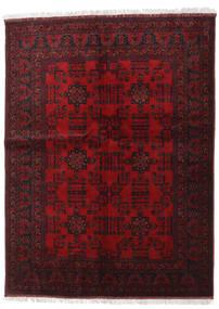 Afghan Khal Mohammadi Rug 148X198 Authentic  Oriental Handknotted Dark Brown/Dark Red (Wool, Afghanistan)