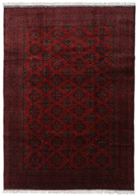 Afghan Khal Mohammadi Rug 202X297 Authentic  Oriental Handknotted Dark Brown/Dark Red (Wool, Afghanistan)