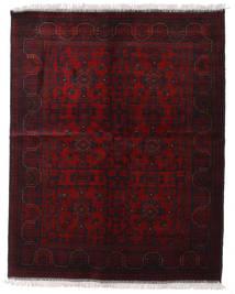 Afghan Khal Mohammadi Matto 154X193 Itämainen Käsinsolmittu Tummanpunainen (Villa, Afganistan)