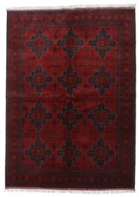 Afghan Khal Mohammadi Matta 168X233 Äkta Orientalisk Handknuten Mörkbrun/Mörkröd (Ull, Afghanistan)