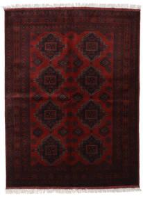 Afghan Khal Mohammadi Matta 175X233 Äkta Orientalisk Handknuten Mörkbrun/Mörkröd (Ull, Afghanistan)