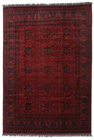 Afghan Khal Mohammadi Matto 200X287 Itämainen Käsinsolmittu Tummanruskea/Tummanpunainen (Villa, Afganistan)