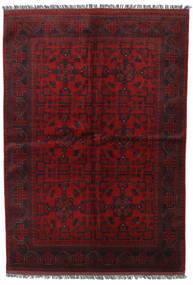 Afghan Khal Mohammadi Teppe 165X235 Ekte Orientalsk Håndknyttet Mørk Rød/Mørk Brun (Ull, Afghanistan)