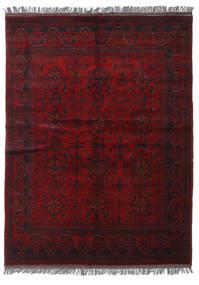 Afghan Khal Mohammadi Matto 150X200 Itämainen Käsinsolmittu Tummanpunainen/Tummanruskea (Villa, Afganistan)