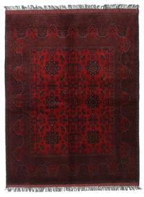 Afghan Khal Mohammadi Matto 156X200 Itämainen Käsinsolmittu Tummanpunainen (Villa, Afganistan)