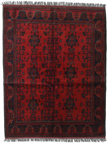Afghan Khal Mohammadi Rug 154X195 Authentic Oriental Handknotted Dark Brown/Dark Red (Wool, Afghanistan)