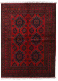 Afghan Khal Mohammadi Tappeto 173X236 Orientale Fatto A Mano Rosso Scuro/Marrone Scuro (Lana, Afghanistan)