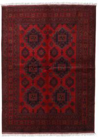 Afghan Khal Mohammadi Matta 173X236 Äkta Orientalisk Handknuten Mörkröd/Mörkbrun (Ull, Afghanistan)