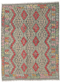 Kilim Afghan Old Style Rug 152X200 Authentic  Oriental Handwoven Light Grey/Dark Grey (Wool, Afghanistan)