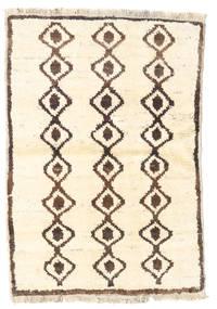 Barchi/Moroccan Berber - Afganistan Rug 84X121 Authentic  Modern Handknotted Beige/Brown (Wool, Afghanistan)