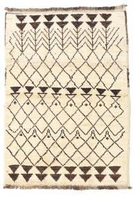 Barchi/Moroccan Berber - Afganistan 絨毯 93X131 モダン 手織り ベージュ/濃い茶色 (ウール, アフガニスタン)