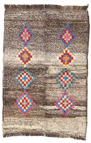 Barchi/Moroccan Berber - Afganistan Rug 85X123 Authentic  Modern Handknotted Light Brown/Beige (Wool, Afghanistan)