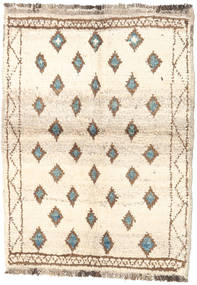 Barchi/Moroccan Berber - Afganistan Rug 89X121 Authentic  Modern Handknotted Beige/Light Brown (Wool, Afghanistan)