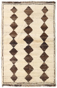Barchi/Moroccan Berber - Afganistan Rug 92X137 Authentic  Modern Handknotted Yellow/Beige (Wool, Afghanistan)