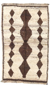 Barchi/Moroccan Berber - Afganistan Rug 73X122 Authentic  Modern Handknotted Beige/Light Brown (Wool, Afghanistan)
