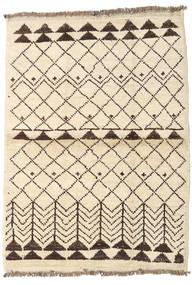 Barchi/Moroccan Berber - Afganistan Matto 99X136 Moderni Käsinsolmittu Beige/Keltainen (Villa, Afganistan)