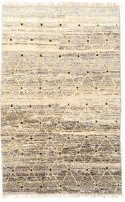 Barchi/Moroccan Berber - Afganistan Rug 114X177 Authentic  Modern Handknotted Beige/Light Brown (Wool, Afghanistan)