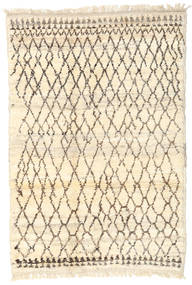 Barchi/Moroccan Berber - Afganistan Rug 119X178 Authentic  Modern Handknotted Beige/Light Brown (Wool, Afghanistan)