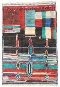 Barchi/Moroccan Berber - Afganistan Matto 122X181 Moderni Käsinsolmittu Tummanharmaa/Beige (Villa, Afganistan)