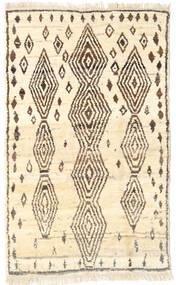 Barchi/Moroccan Berber - Afganistan Teppe 109X176 Ekte Moderne Håndknyttet Beige/Brun (Ull, Afghanistan)