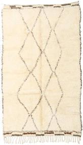 Berber Moroccan - Beni Ourain Matta 146X247 Äkta Modern Handknuten Beige (Ull, Marocko)