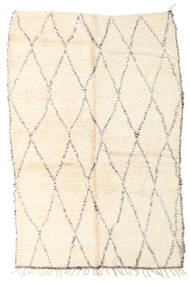 Berber Moroccan - Beni Ourain Rug 188X280 Authentic  Modern Handknotted Beige/Light Pink (Wool, Morocco)