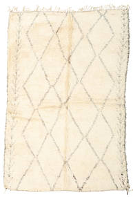 Berber Moroccan - Beni Ourain Rug 190X287 Authentic  Modern Handknotted Beige (Wool, Morocco)