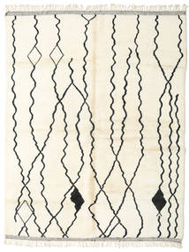 Berber Moroccan - Beni Ourain Rug 252X322 Authentic  Modern Handknotted Beige Large (Wool, Morocco)
