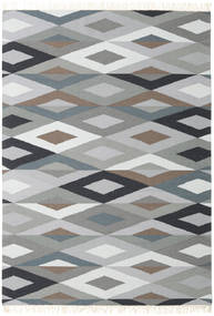 Zimba - Grey Rug 160X230 Authentic  Modern Handwoven Light Grey/Dark Grey (Wool, India)