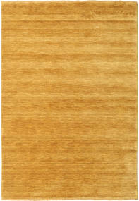 Handloom Fringes - Yellow Rug 160X230 Modern Orange/Light Brown (Wool, India)