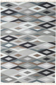 Zimba - Grey Rug 200X300 Authentic  Modern Handwoven Light Grey/White/Creme (Wool, Persia/Iran)