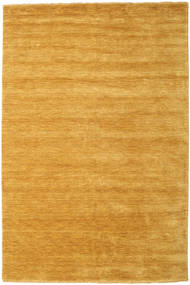 Handloom Fringes - Gul Teppe 200X300 Moderne Lysbrun/Orange (Ull, India)