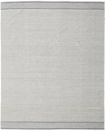 Norma - Black Rug 250X300 Authentic  Modern Handwoven Light Grey Large (Cotton, India)