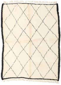 Berber Moroccan - Beni Ourain Matta 187X250 Äkta Modern Handknuten Beige/Vit/Cremefärgad (Ull, Marocko)