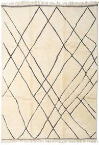Berber Moroccan - Beni Ourain Szőnyeg 278X388 Modern Csomózású Bézs/Sárga Nagy (Gyapjú, Marokkó)