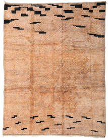 Berber Moroccan - Mid Atlas Rug 303X392 Authentic  Modern Handknotted Light Brown/Light Pink Large (Wool, Morocco)
