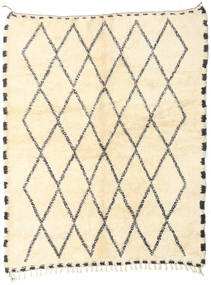 Berber Moroccan - Beni Ourain Rug 207X255 Authentic  Modern Handknotted Beige/Dark Beige (Wool, Morocco)