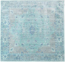 Maharani - Blue Rug 200X200 Modern Square Light Blue/Turquoise Blue ( Turkey)