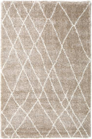 Shaggy Tangier - Beige/White Rug 200X300 Modern Light Grey/Beige ( Turkey)