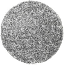 Pepper & Salt - Grey Mix Rug Ø 200 Modern Round Light Grey/Dark Brown ( Turkey)