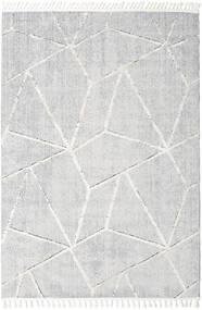 Scandic Dywan 300X400 Nowoczesny Jasnoszary/Biały/Creme Duży ( Turcja)