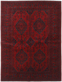 Afghan Khal Mohammadi Tappeto 176X231 Orientale Fatto A Mano Rosso Scuro/Marrone Scuro (Lana, Afghanistan)