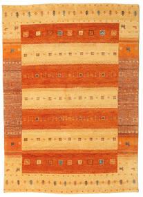Gabbeh Indo Matto 164X232 Moderni Käsinsolmittu Oranssi/Vaaleanruskea (Villa, Intia)