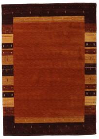 Gabbeh Indie Dywan 173X239 Nowoczesny Tkany Ręcznie Ciemnoczerwony/Ciemnobrązowy (Wełna, Indie)