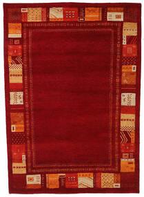 Gabbeh Indo Tapis 168X237 Moderne Fait Main Rouge Foncé/Rouille/Rouge (Laine, Inde)