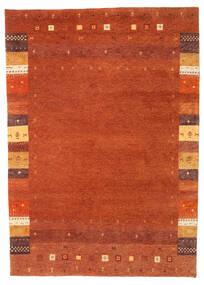 Gabbeh Indisk Teppe 166X231 Ekte Moderne Håndknyttet Orange/Rust (Ull, India)