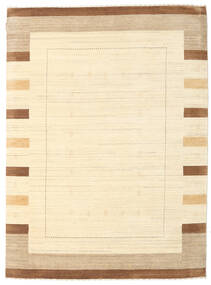 Gabbeh Indisch Teppich  179X242 Echter Moderner Handgeknüpfter Beige/Dunkel Beige (Wolle, Indien)