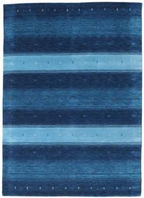 Gabbeh Indisch Teppich  164X228 Echter Moderner Handgeknüpfter Dunkelblau/Blau (Wolle, Indien)