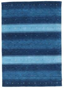 Gabbeh Indo Tapis 159X229 Moderne Fait Main Bleu Foncé/Bleu (Laine, Inde)