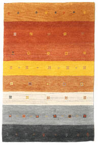 Gabbeh Indo Rug 119X182 Authentic  Modern Handknotted Beige/Rust Red (Wool, India)